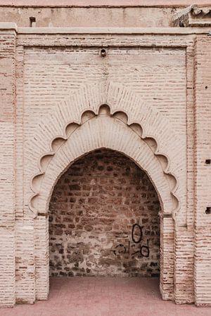 Tor in der Medina von Marrakesch
