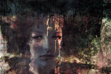 Verdrietige vrouw van Marijke de Leeuw - Gabriëlse