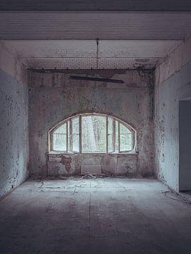 Verlaten plekken: blauwe kamer van Olaf Kramer