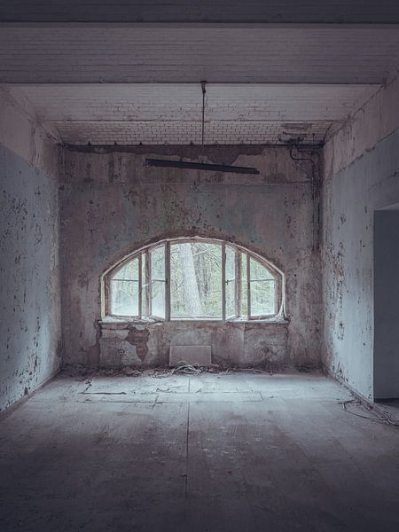 Verlaten plekken: blauwe kamer von Olaf Kramer