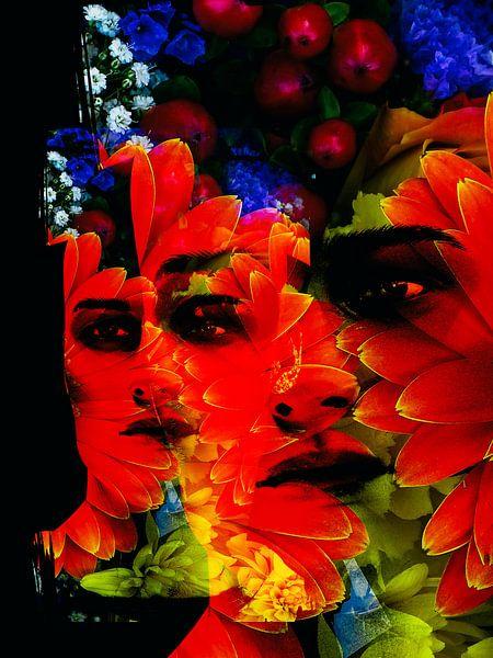 Flower man van Gabi Hampe