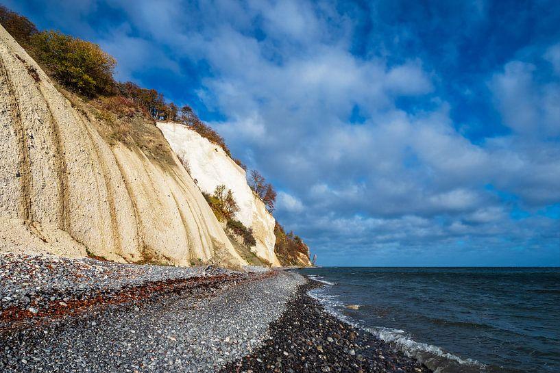 Ostseeküste auf der Insel Moen in Dänemark sur Rico Ködder