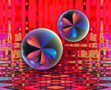 Zomer bubbels van Thea Walstra
