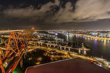 A'DAM toren - Panoramaview over Amsterdam. (4) von Renzo Gerritsen