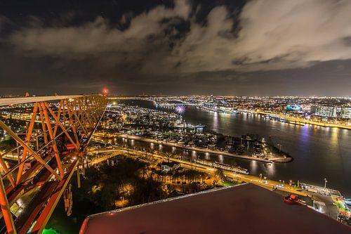 A'DAM toren - Panoramaview over Amsterdam. (4) van Renzo Gerritsen
