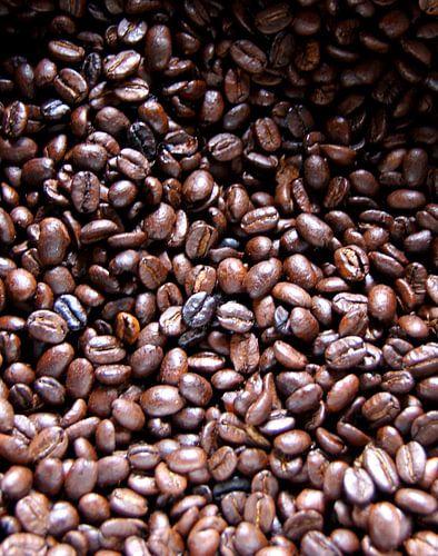 Vers gebrande koffie van