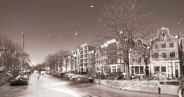 Amsterdam   en hiver sur Dalex Photography
