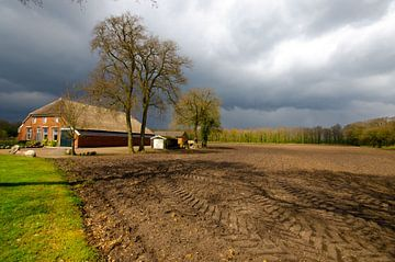 Boerderij in Drenthe van Remco Swiers