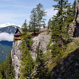 Dolomietenhut en Schobergruppe van Leopold Brix