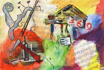 Das Leben feiern, mit Musik und Wein van Katarina Niksic