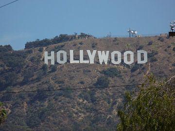 Hollywood Sign, Beverly Hills, Los Angeles van Jeffrey de Ruig