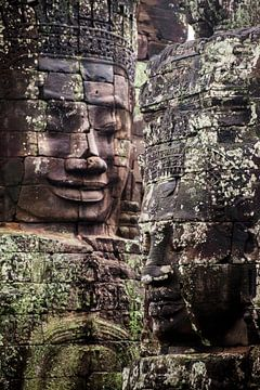 Angkor Thom Bayon von Sebastiaan Hamming