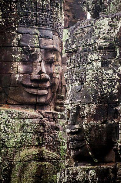 Angkor Thom Bayon van Sebastiaan Hamming