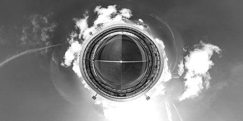Stadion Feijenoord De Kuip360 foto corona spandoeken, Spandoekenzee