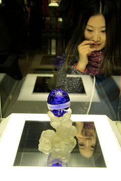 Bewunderung für das Fabergé-Ei, Shanghai-Museum von Sarah Lugthart