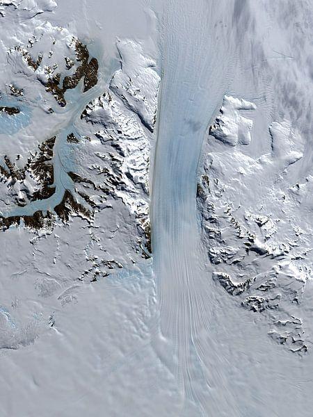 Byrd Gletsjer, Antarctica van Digital Universe