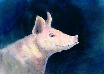 Glücksschwein von Jitka Krause