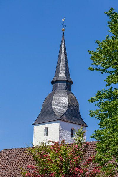 Kerk, Stemwede-Levern, Gemeente Stemwede, Noordrijn-Westfalen, Duitsland, Europa van Torsten Krüger