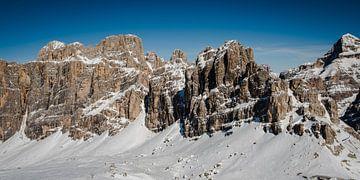 Besneeuwde bergwand von MICHEL WETTSTEIN
