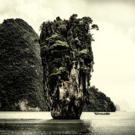 Khao Phing Kan - James Bond island van Keesnan Dogger Fotografie
