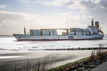 De bananenboot van Chiquita in Vlissingen (Zeeland) von Fotografie Jeronimo