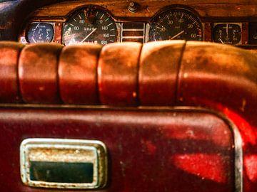 Lancia-Auto am Standort Urbex. von Stefan Peys