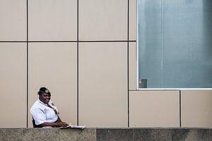 Bewaakster in Guyana von Vera van der Wal