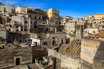 La ville des grottes de Matera sur Jürgen Wiesler