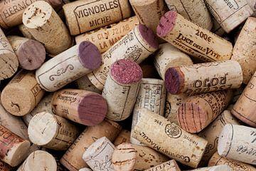 Sammlung von Weinflaschenkorken von Klaartje Majoor
