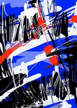 Blaauw 1 van Wilfried van Dokkumburg