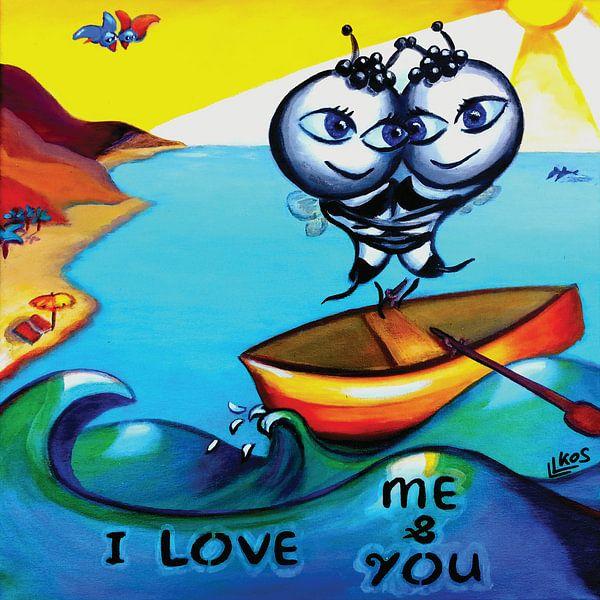 I love me & you van Lorette Kos