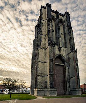 Dikke toren Zierikzee van Thomas Lang