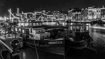 Stadsgezicht Magere Brug Amsterdam van Robert Gort