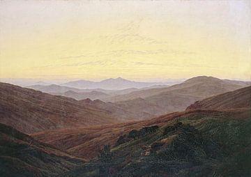Caspar David Friedrich. Das Riesengebirge