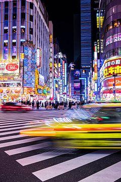 Tokio nights - Shinjuku neon van Angelique van Esch