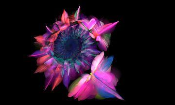 Dragon Flower von Christy Leigh