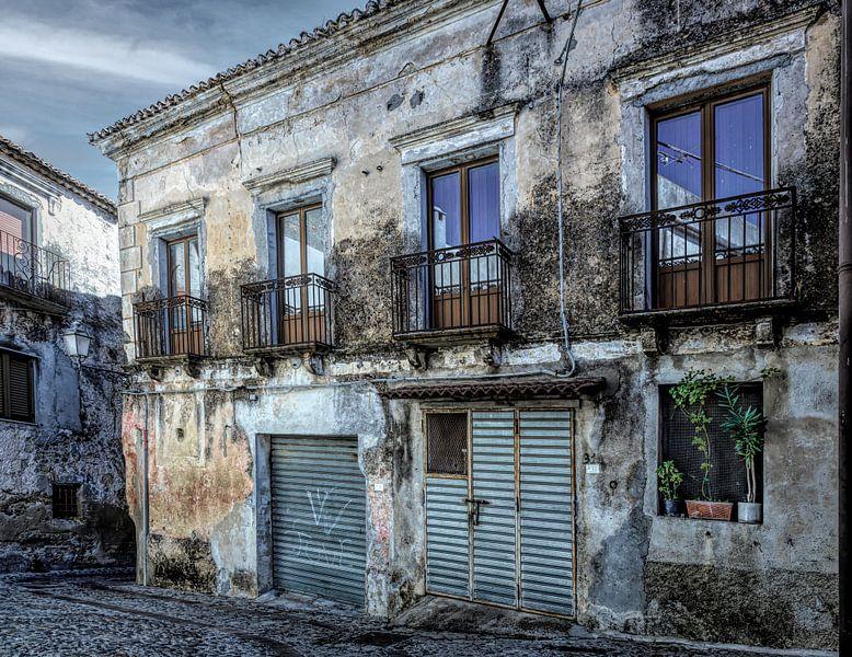 Haus mit Garage Italien Kalabrien von Dick Jeukens