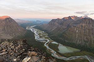 Rapadalen valley, Sarek, Swedish Lapland von Capture The Mountains