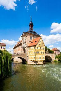 Oud stadhuis in Bamberg