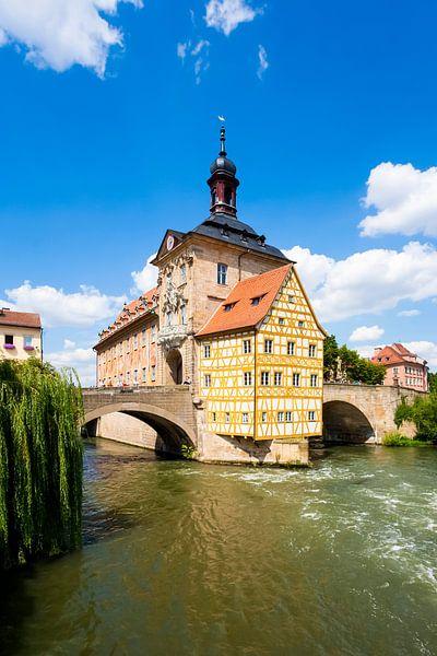 Oud stadhuis in Bamberg van Werner Dieterich