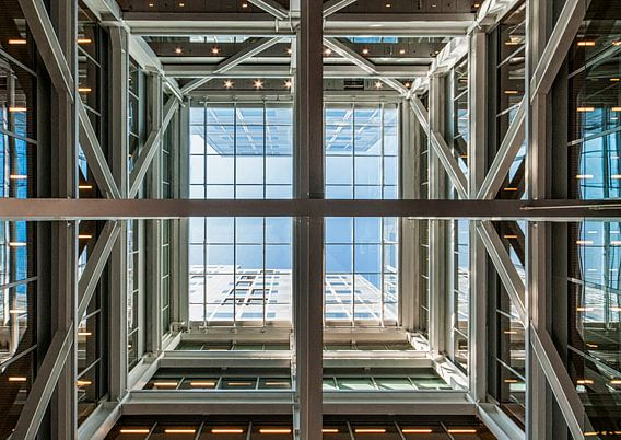 Timmerhuis Rotterdam – Looking up