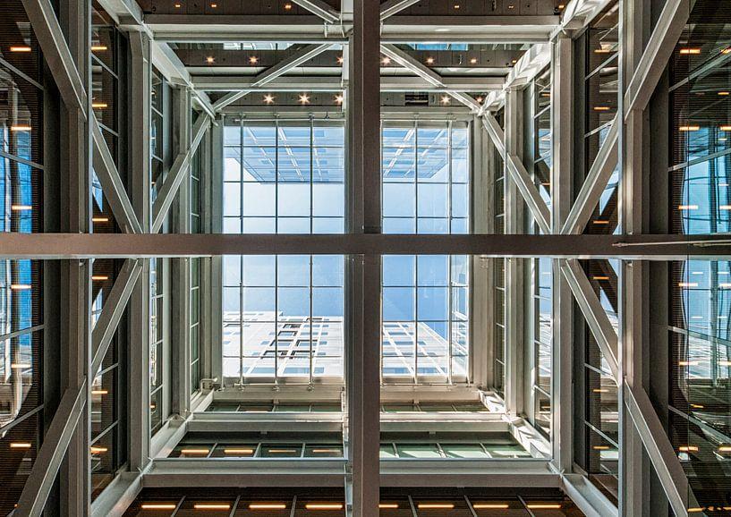 Timmerhuis Rotterdam – Looking up van David Pronk