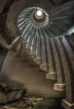 Escalier vers le paradis sur Pierrette BLEIMLING