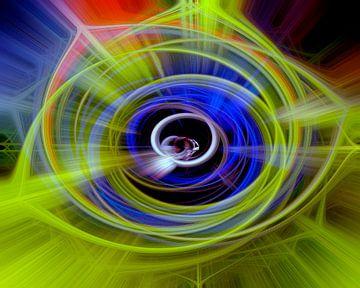 Space twirls van Michael Nägele