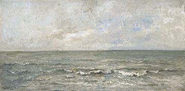 Zeegezicht, Charles-François Daubigny sur