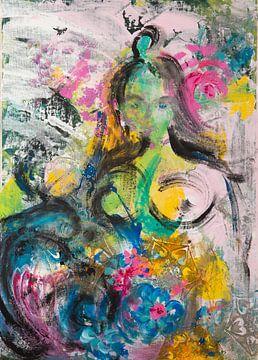 Indian Girl von Carmen Eisele