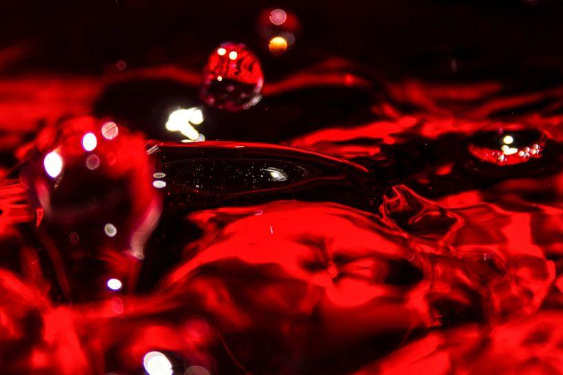 Red drops van Leon Weggelaar