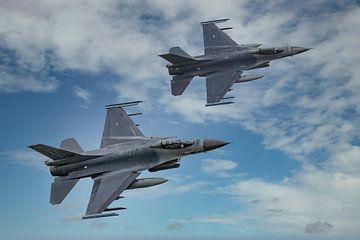 F-16 Fighting Falcon Nederland van Gert Hilbink
