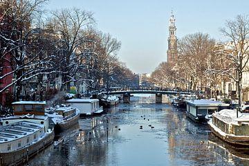 Westertoren Amsterdam van Ipo Reinhold