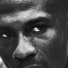 Michael Jordan eye's van Fons Simons